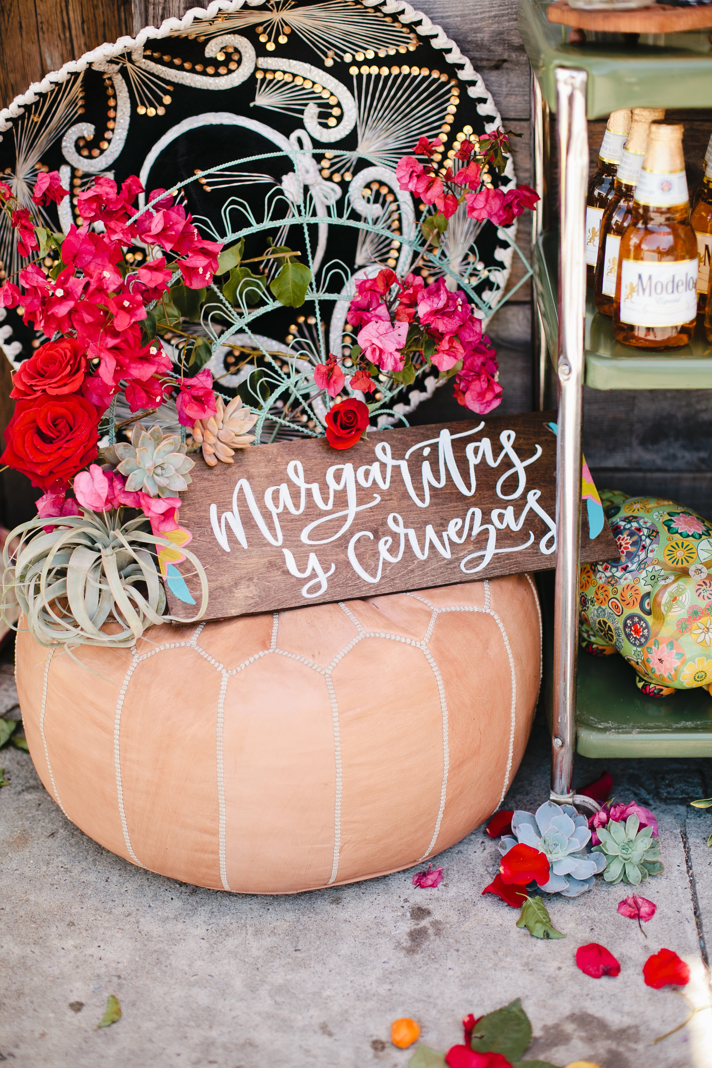 Mexican inspired wedding signage
