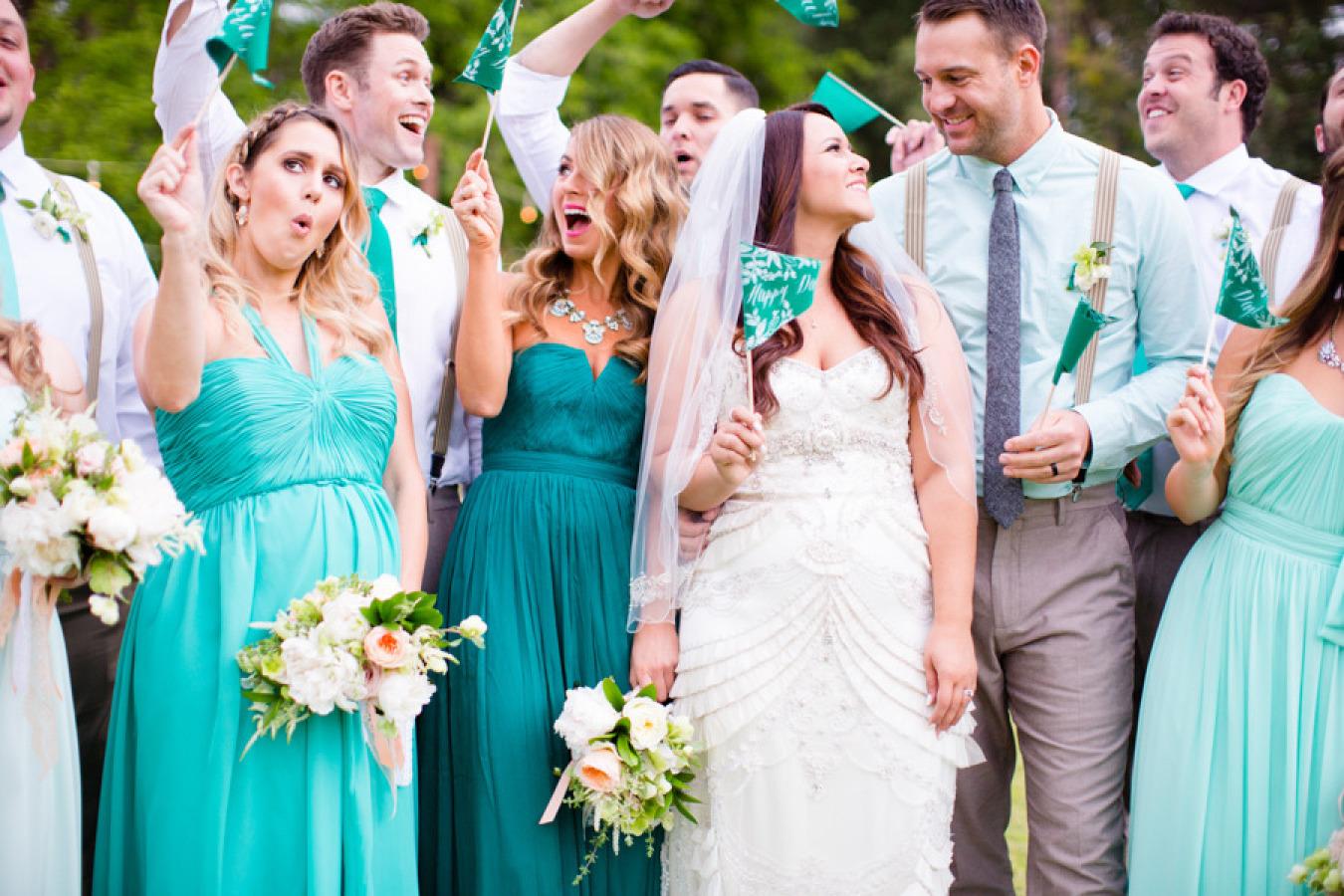 Jade and mint wedding inspiration