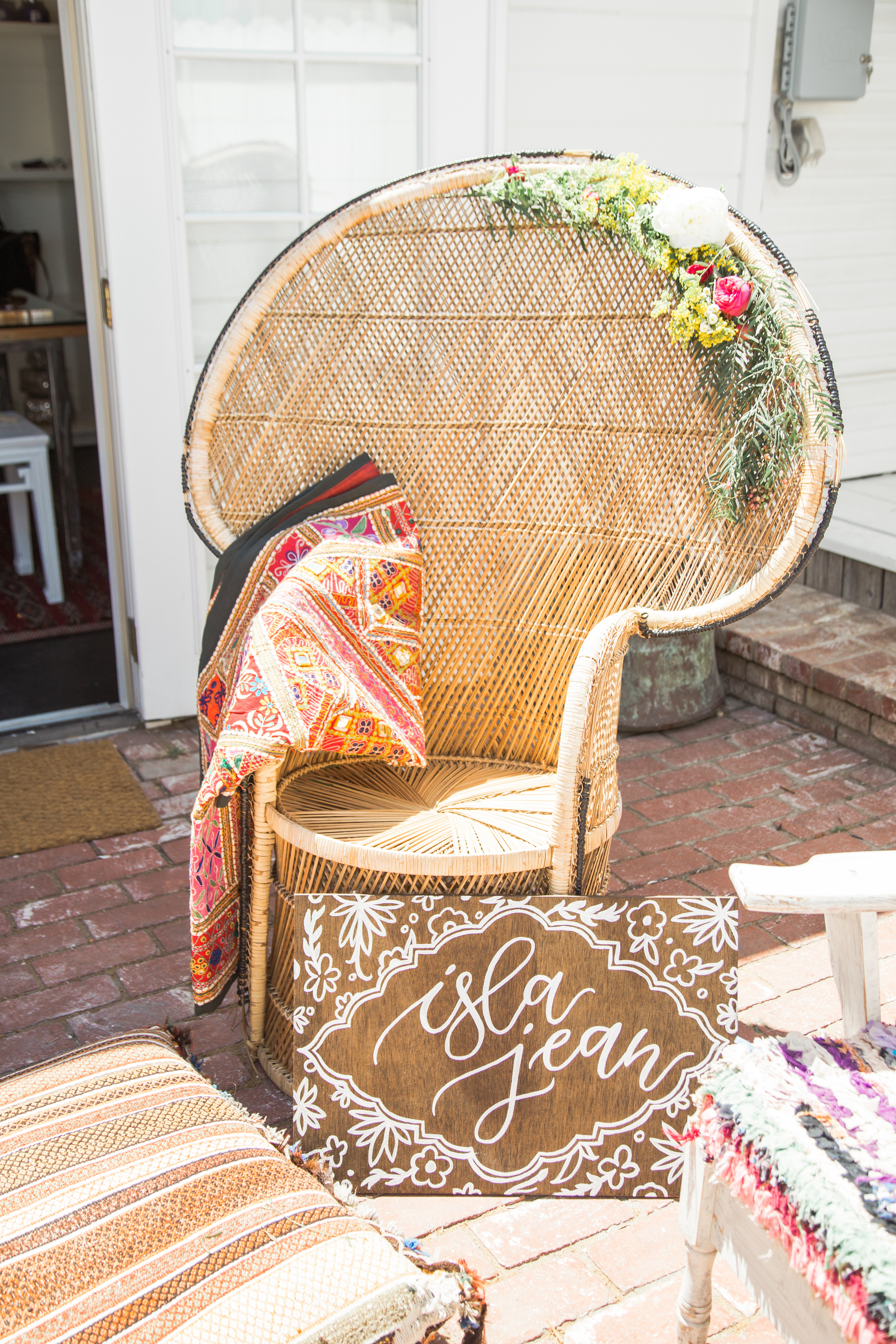 Bohemian baby shower inspiration