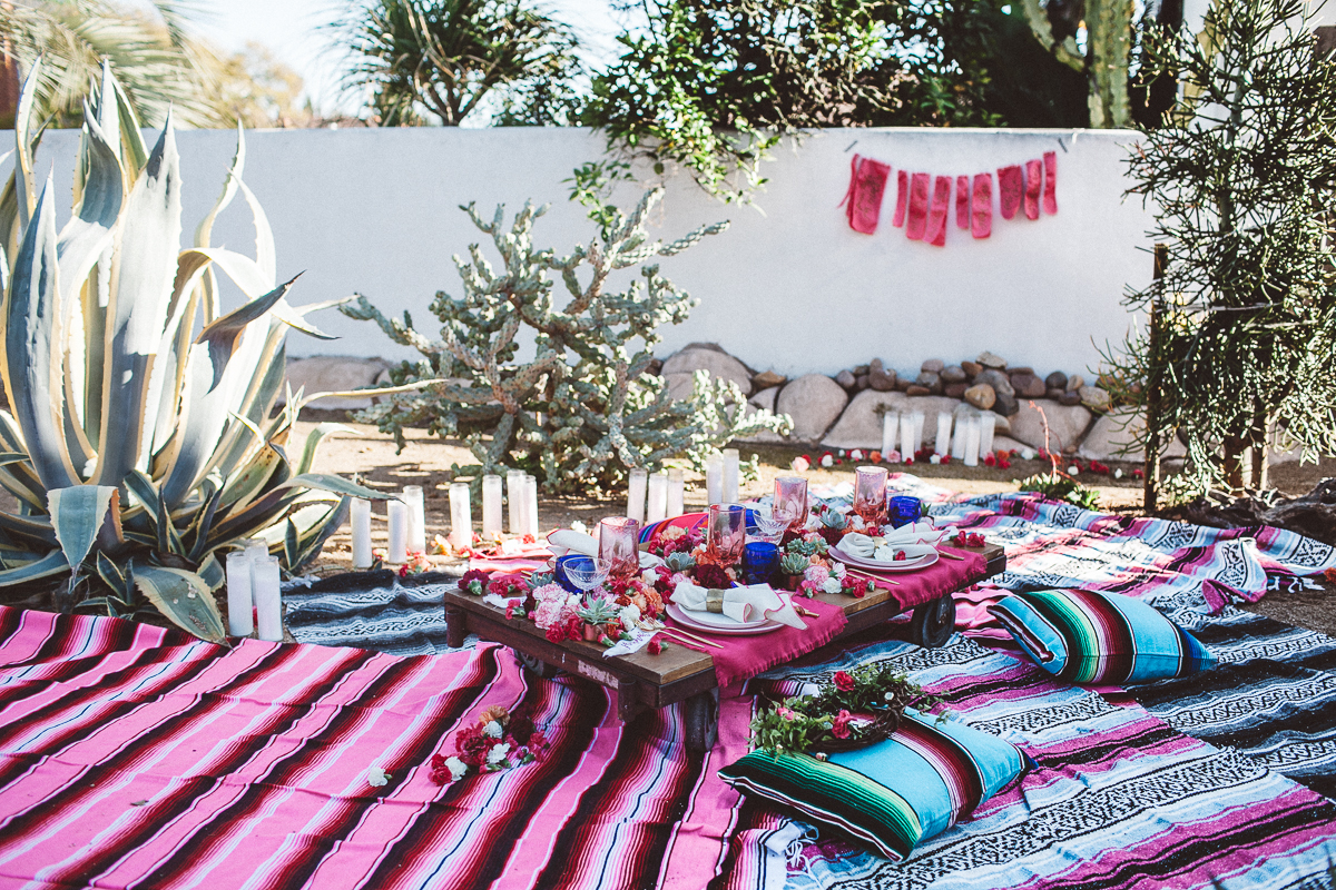 Backyard Mexican inspired party