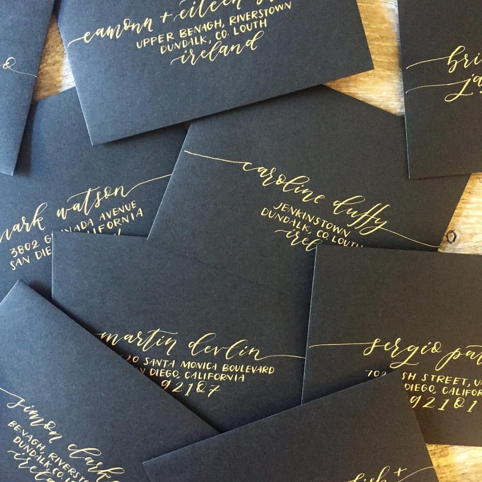 How To Address Wedding Invitations Le Toast