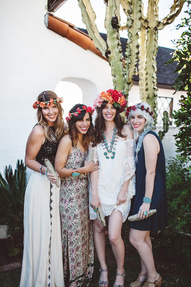 Bohemian outdoor bridal shower