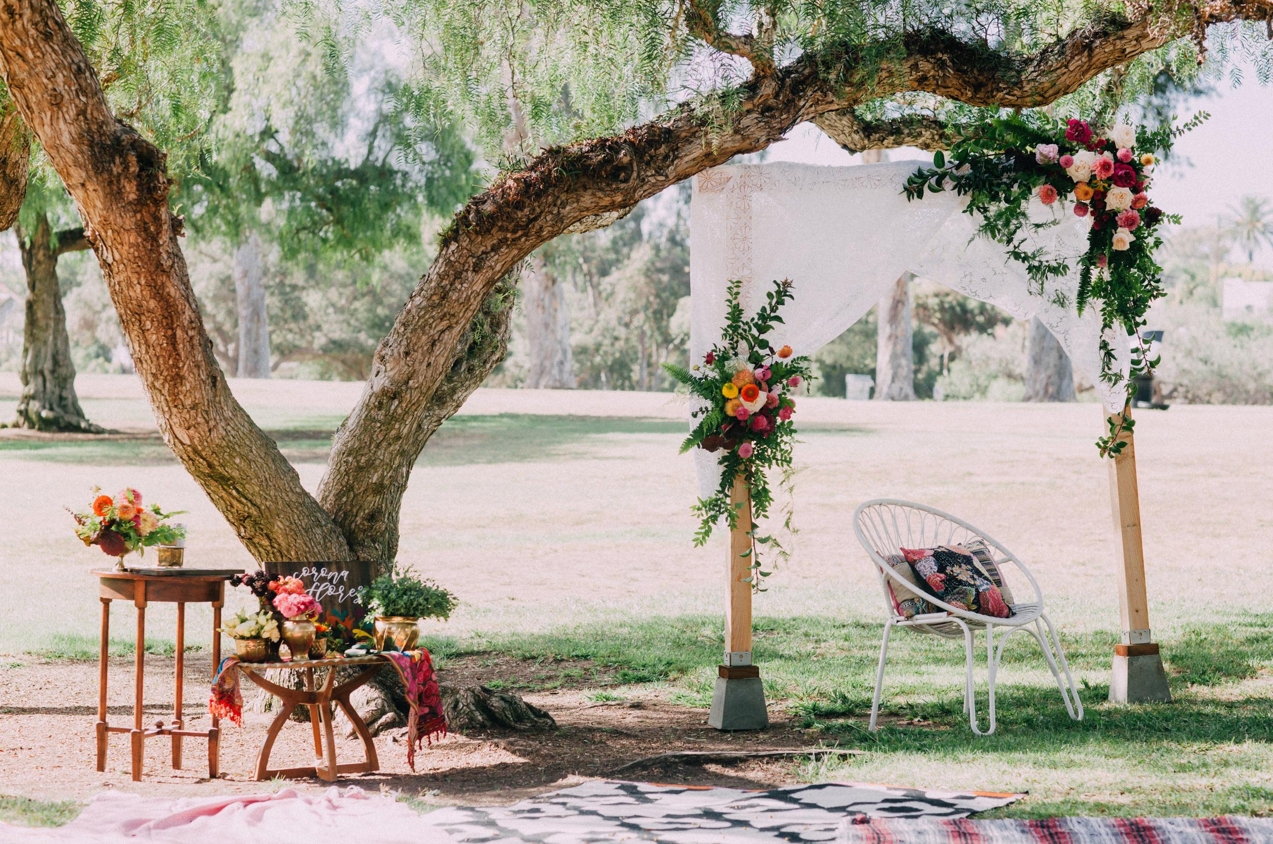 Bohemian bridal shower activities
