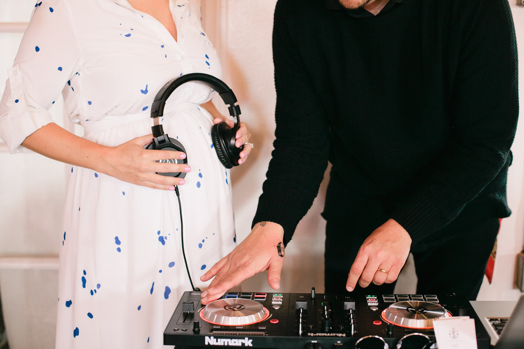Anti baby shower DJ