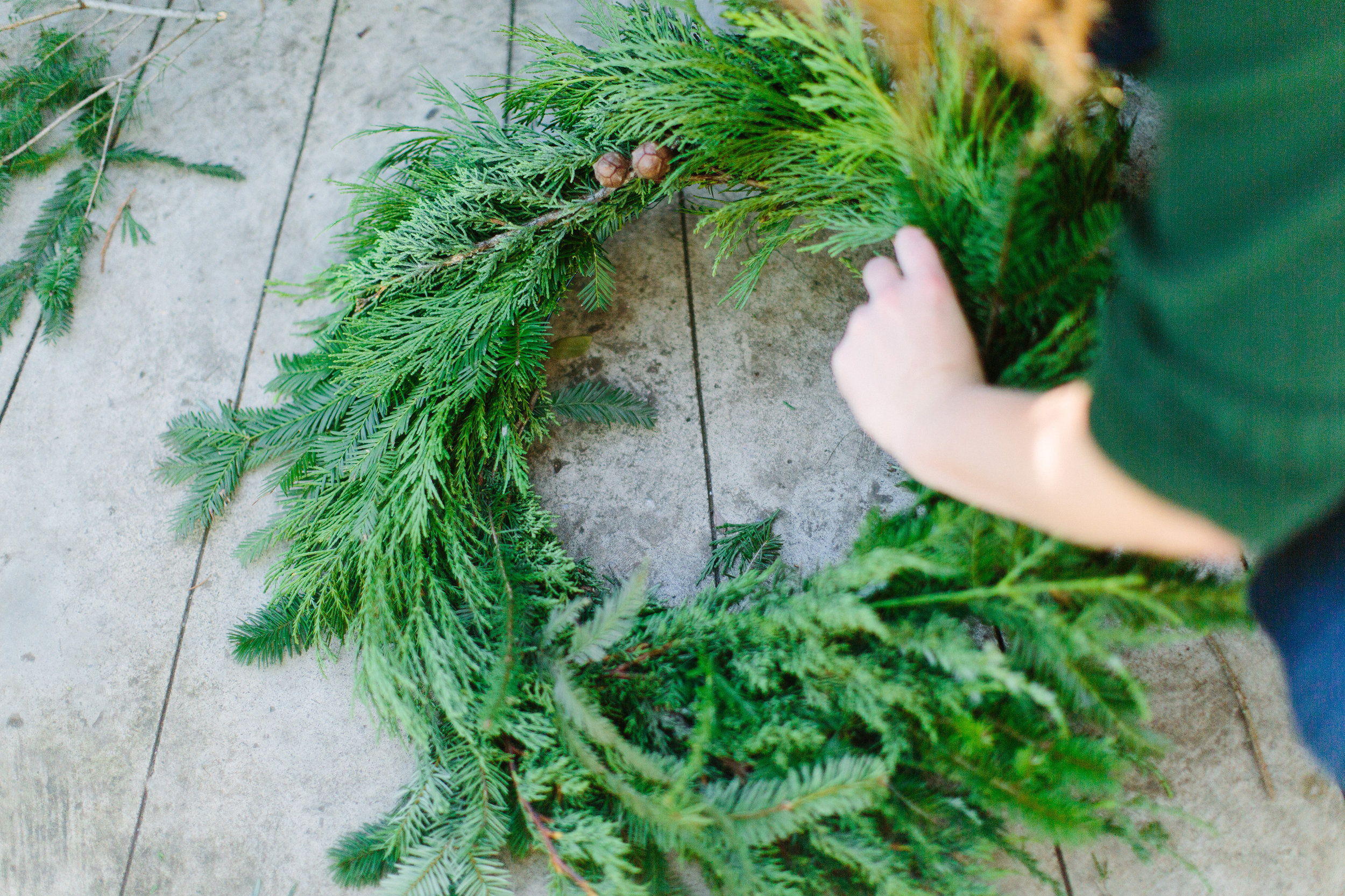wreath making girls day