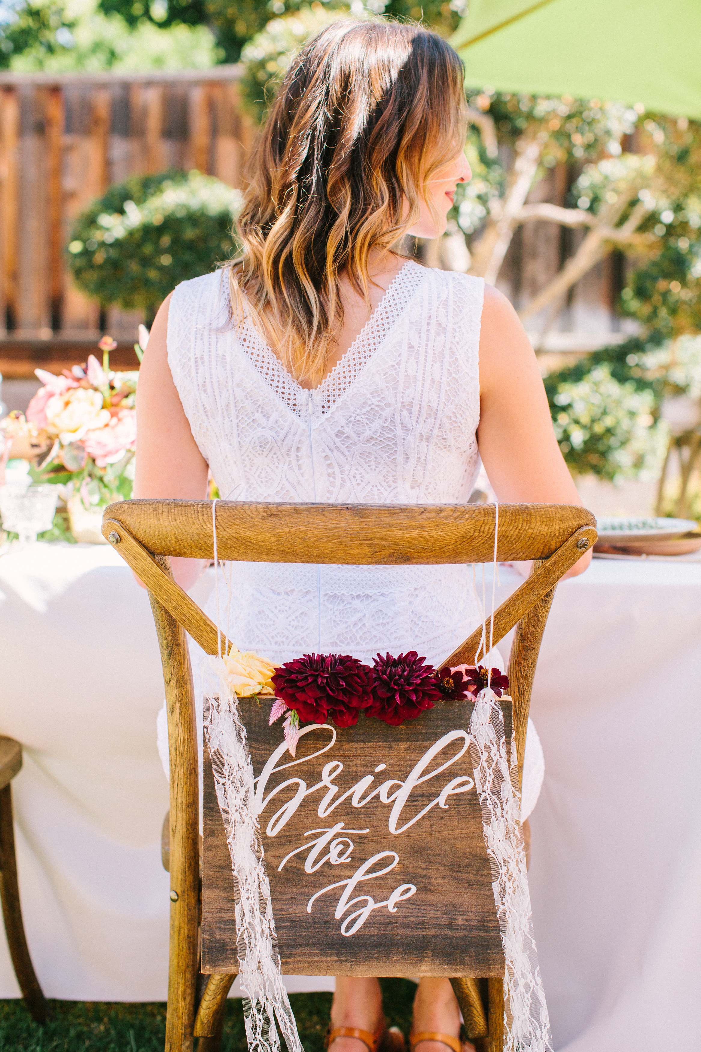 Bride to Be sign for bridal shower