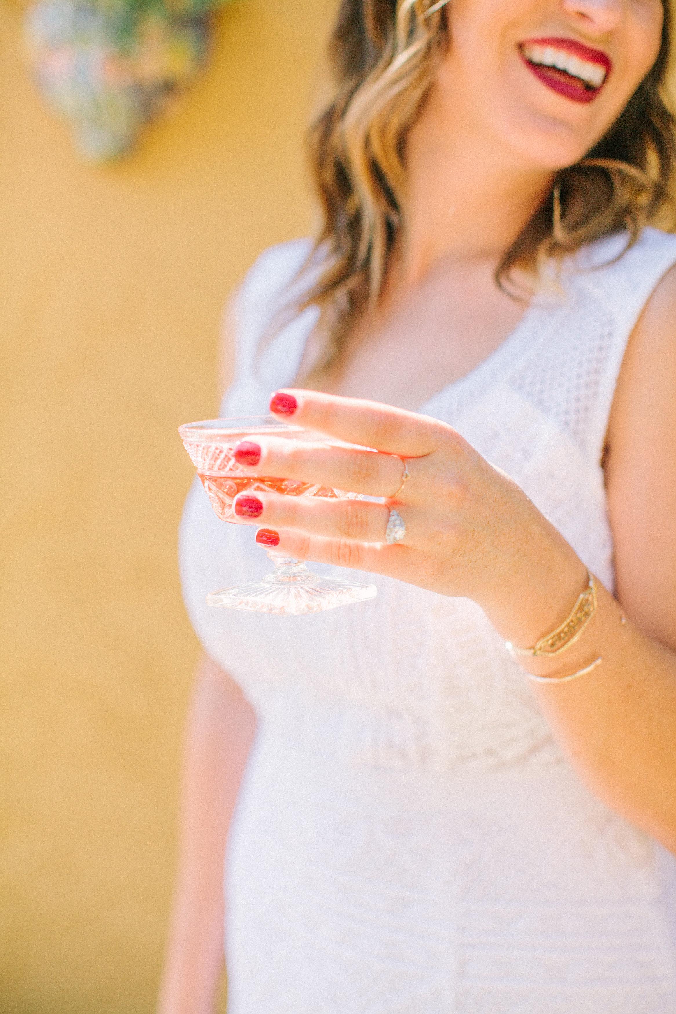 Rosé Inspired Bridal Shower