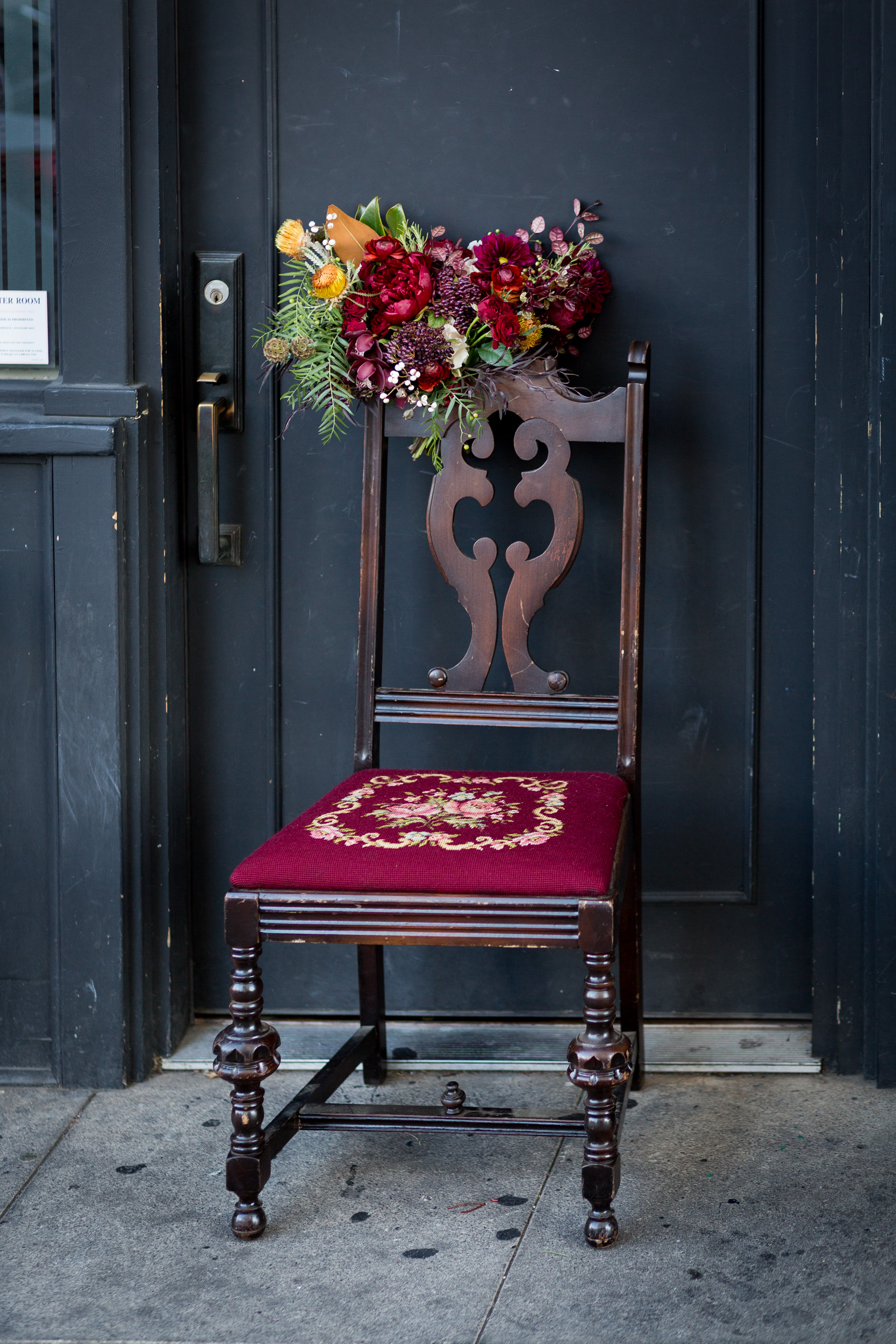 Burgundy wedding inspiration
