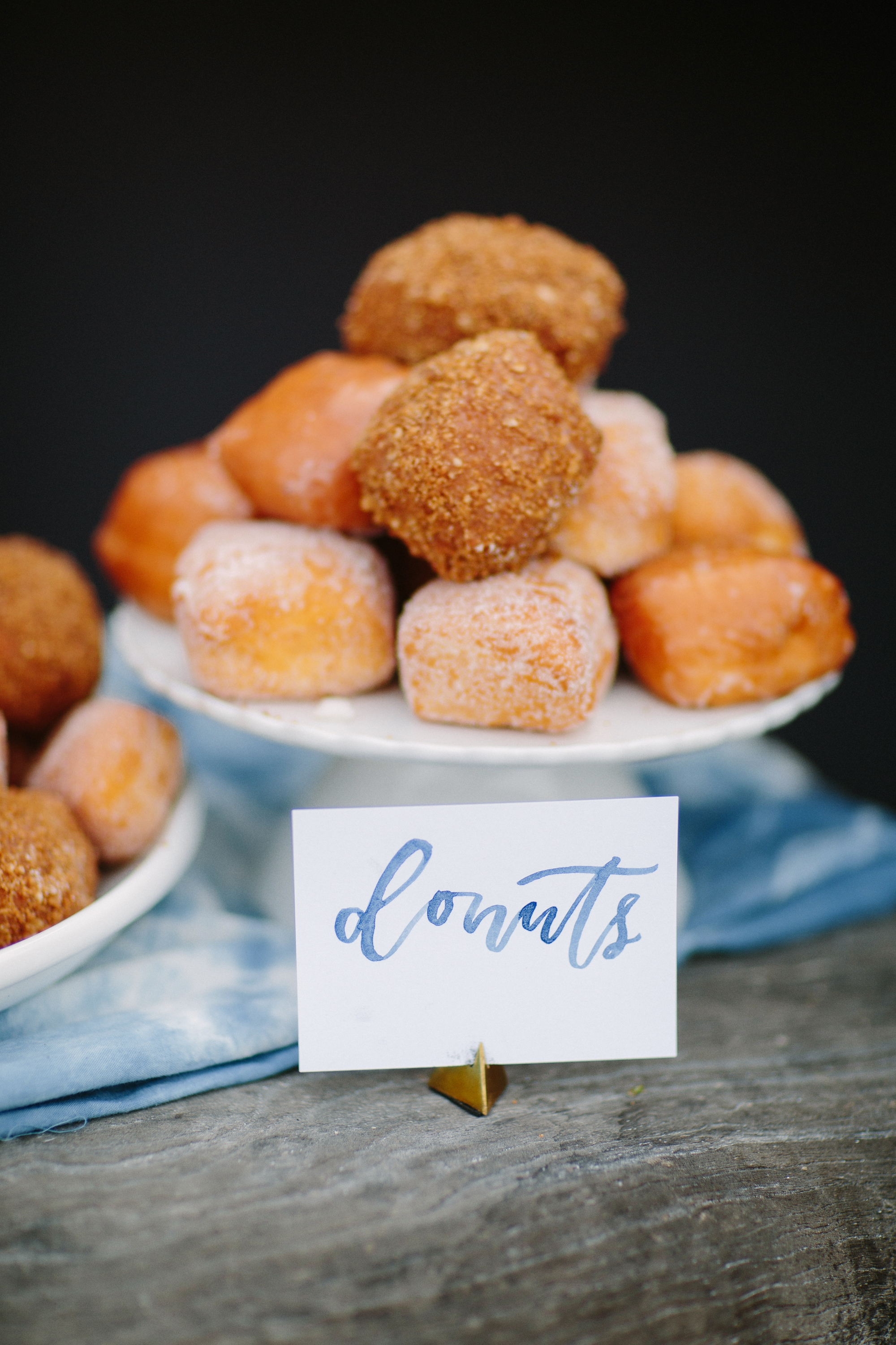 Baby shower donut table