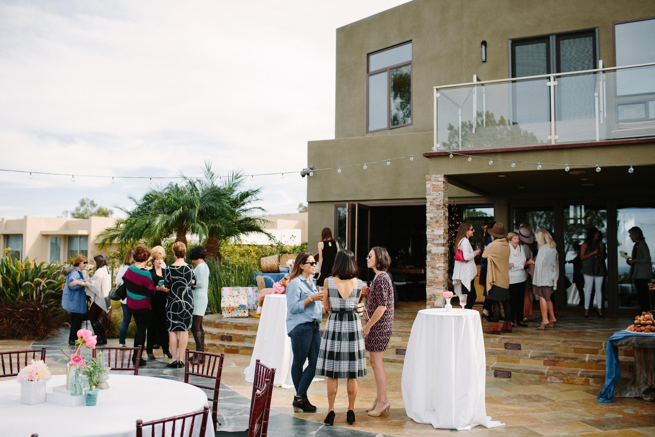 San Diego modern baby shower