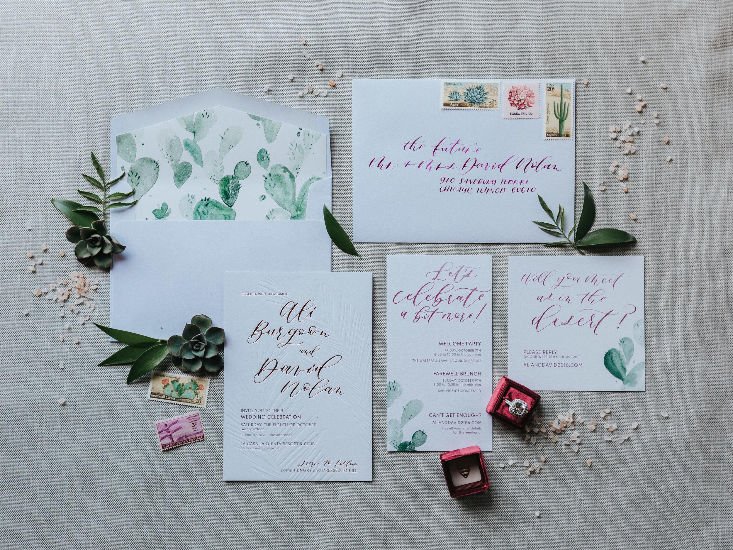 palm springs wedding ideas