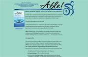 """Able!"" Website Design | moxiestudio.com"