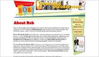 """It's in the Book, Bob!"" Website Design | moxiestudio.com"