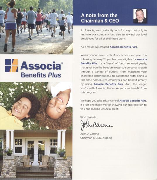 Associa Benefits Information | moxiestudio.com