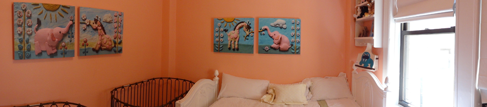 Nursery canvases