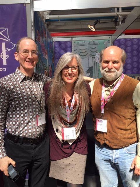 Elizabeth with Paul Zelinsky & Doug Cushman