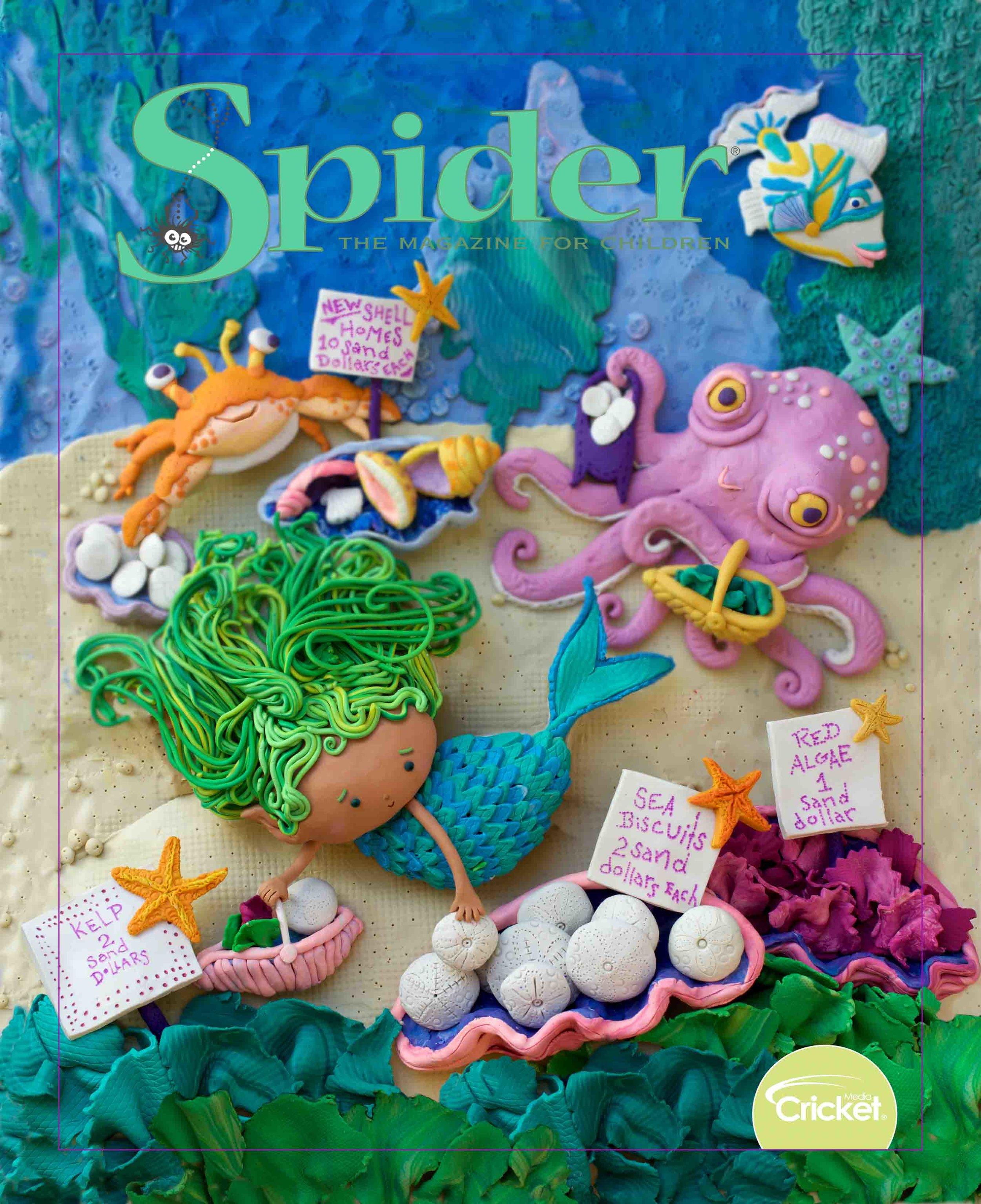 August 2019 Spider Magazine Cover