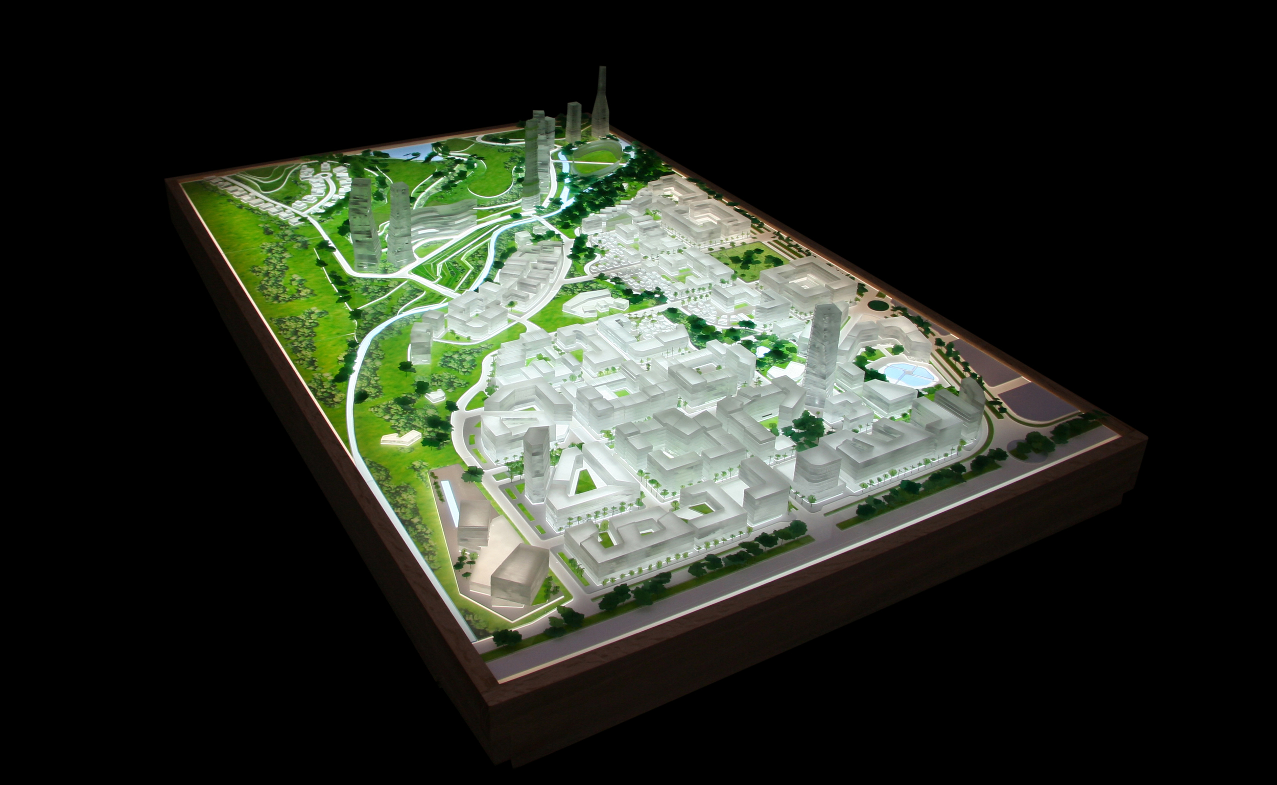 """Copy of """"Nanocity: A City For the 21st Century"""" at the College of Environmental Design, Berkeley, 2007"""