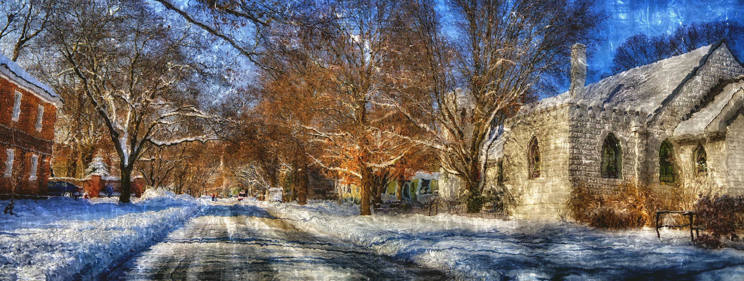 harmony snow church street panoimpressionist.jpg