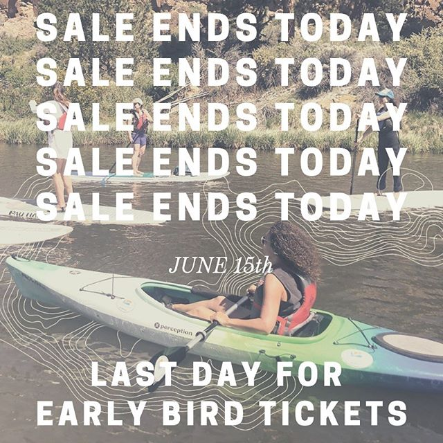 LAST DAY to take advantage of Early Bird ticket pricing for the Escape Event Series! Join us in the beautiful Pacific Northwest this fall for fun, community, outdoor classes, self care workshops, hammock relaxing, and campfire chillin. EVERYTHING is included... classes, guides, gear, food, beverages (inc. alcohol), and lodging. Payment plans available at check out. Link in bio to learn more!  #sweatydirtyhappy #adventuretime  #adventuruswomxn #outdoorwomen #womenempowerment #comeasyouare  #AdventureRX #liveoutsidegoexplore #findyouradventure
