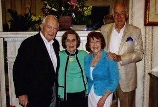 63rd Anniversary Celebration for Both Dick & Ruth Newton and Emmett & Rowland Lee