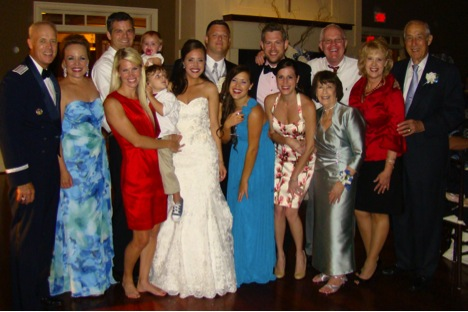 From the wedding of Dick & Ruth Newton's granddaughter.