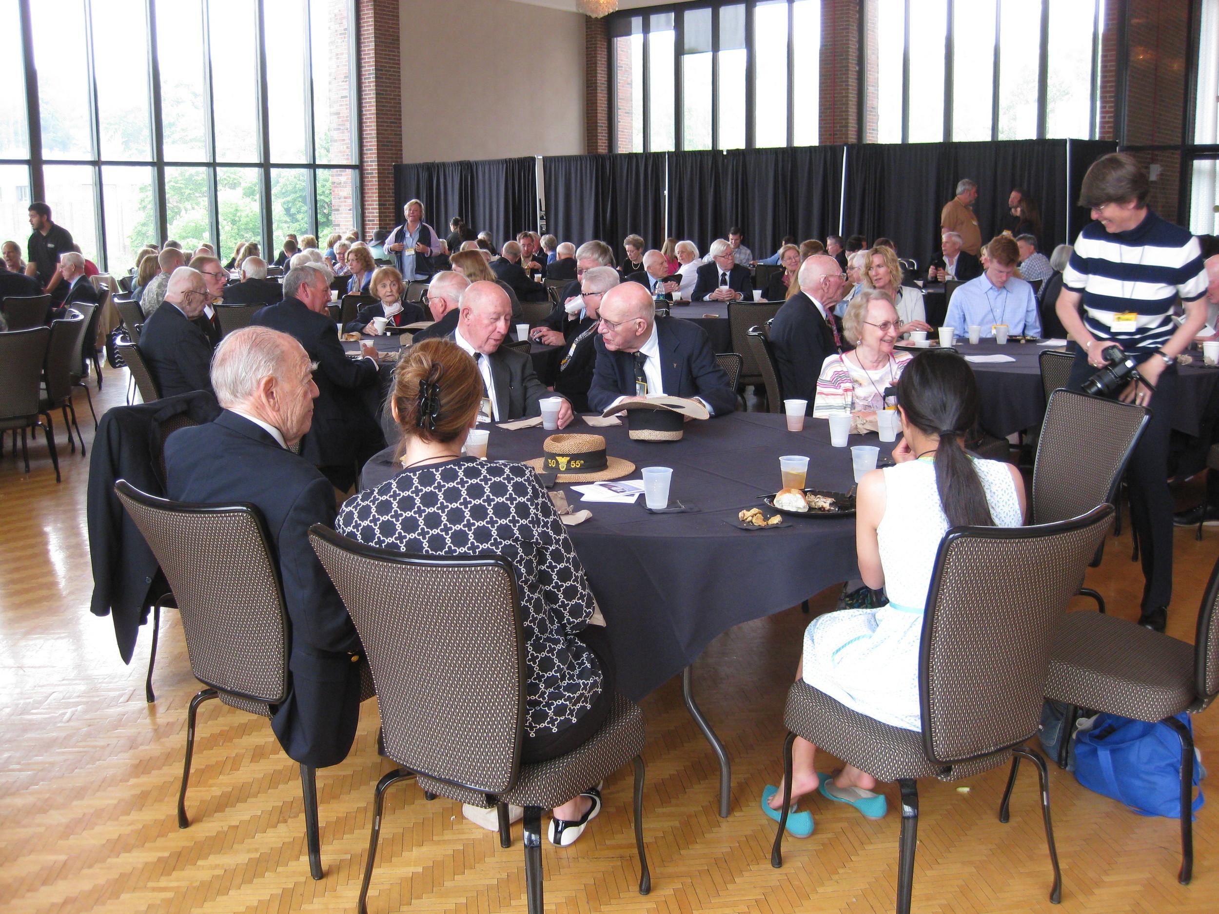 Alfred Sanderson - 4 Eisenhower Hall Lunch.JPG