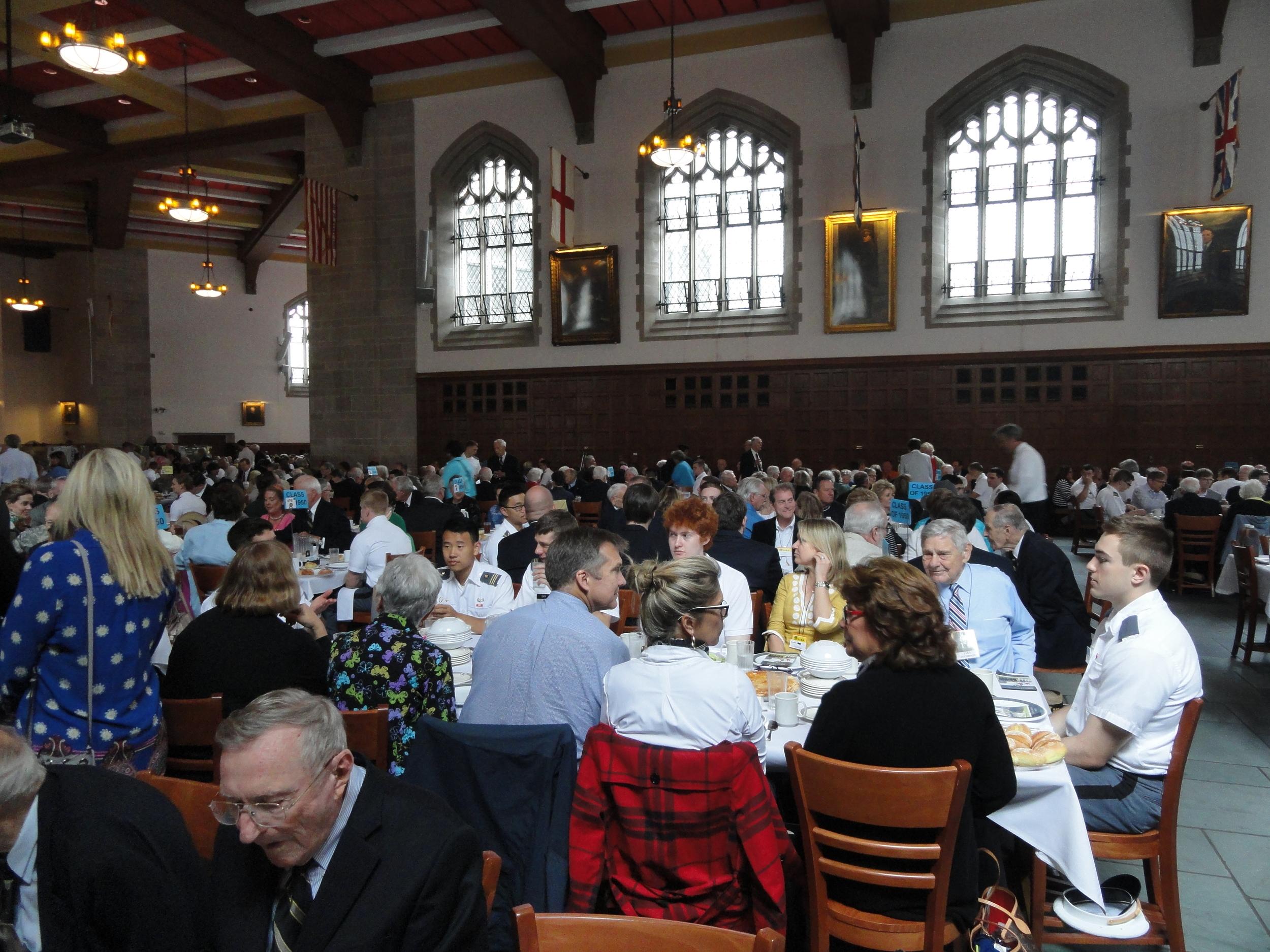 Alfred Sanderson - 19 Lunch in Washington Hall.JPG