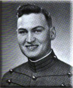 Cadet David Monihan in Uniform