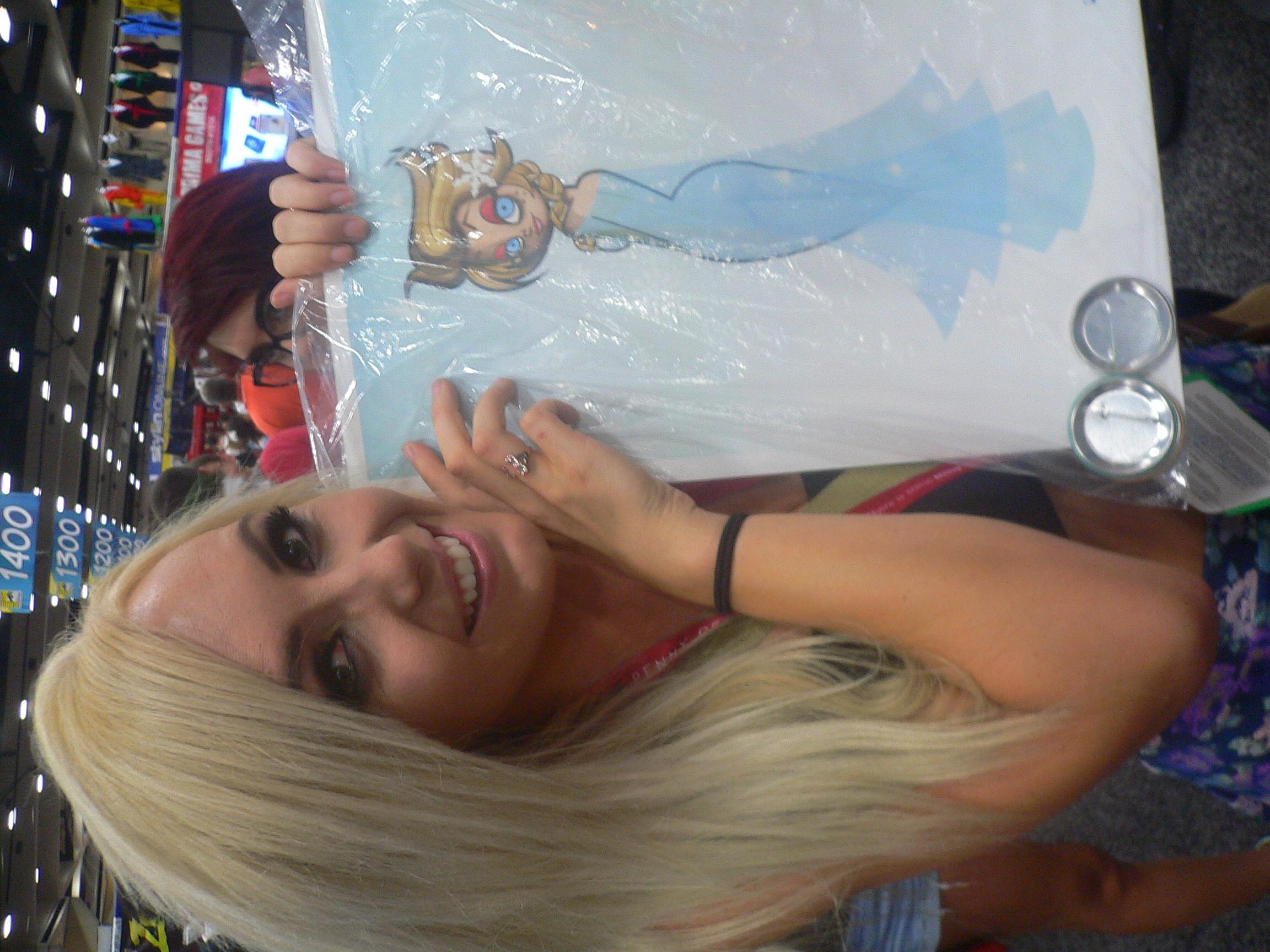 Jessica Nigri got one of my Elsas ;)