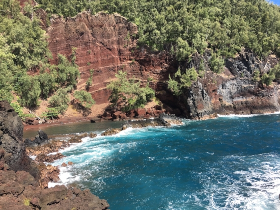 Dreaming about this red sand beach in Hana, Maui