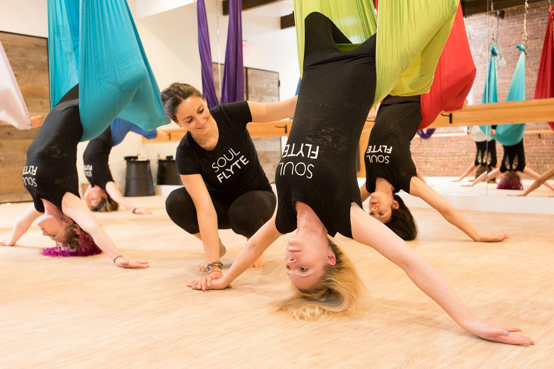 Antigravity Yoga -