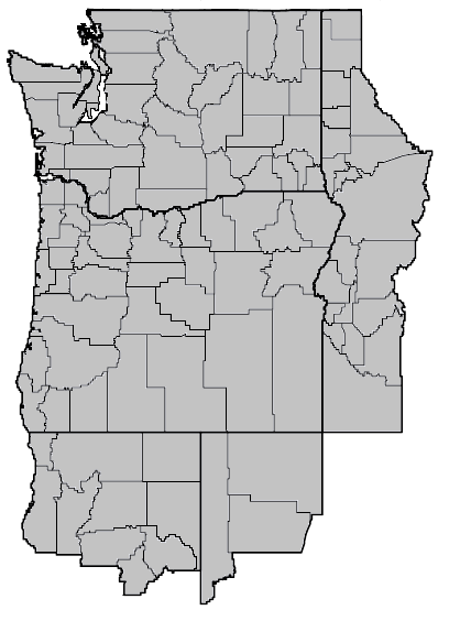 Carex nebrascensis (nebraska sedge) map.png
