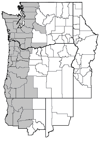 Carex obnupta (slough sedge) map.png