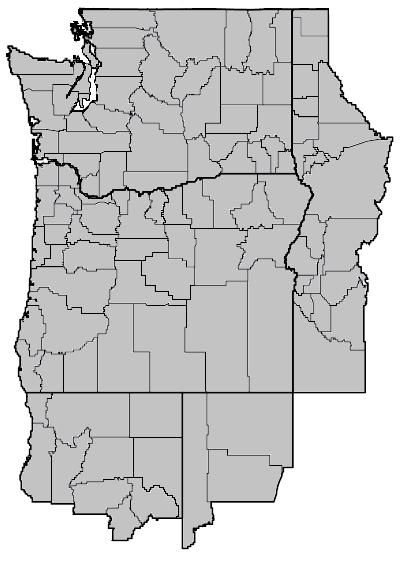 Juncus gerardii (Saltmeadow rush) map.png
