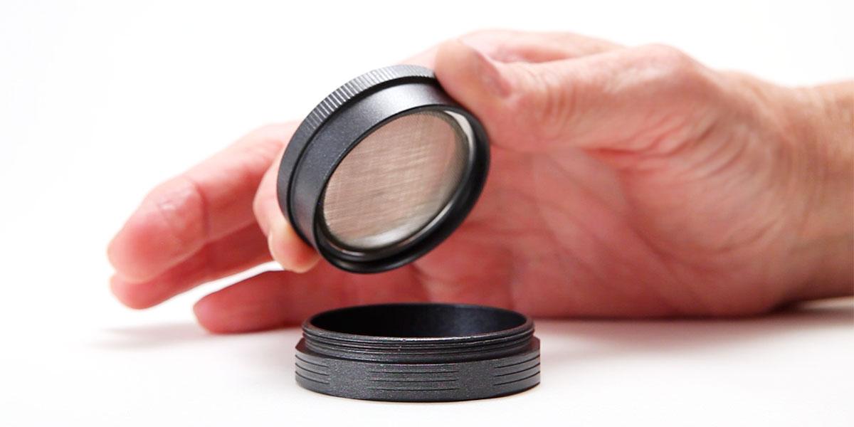 2 Inch SLX Version 2.0 Non-Stick Grinder Black by SLXV2