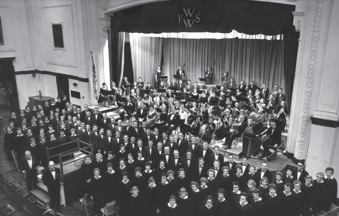 Walla Walla Symphony, 1960
