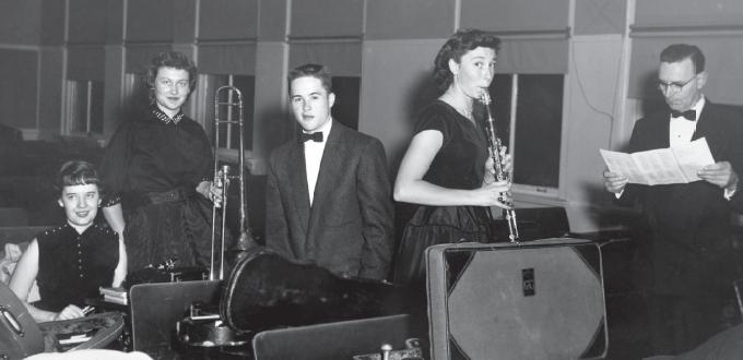 Walla Walla Symphony members, 1955