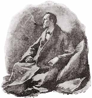 Sherlock Holmes as illustrated by Sidney Paget