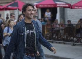 Justin Trudeau in Canadian Tuxedo ( Source )