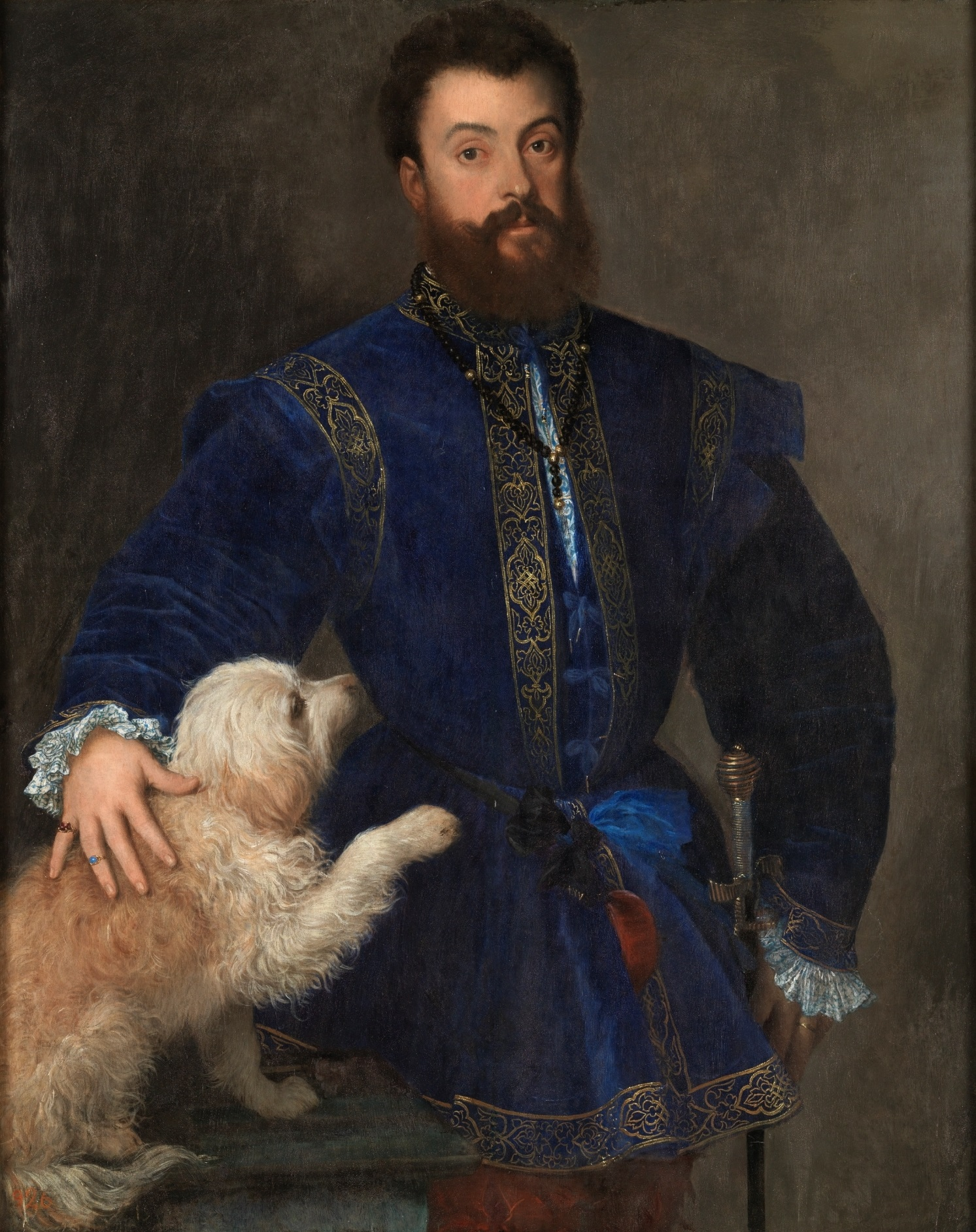 Federico II Gonzaga by Titian