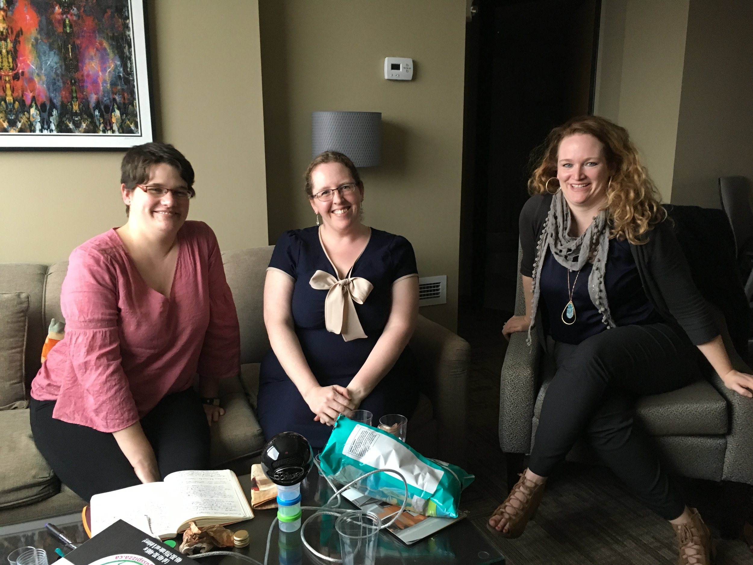 Alison, Melanie, & Melissa