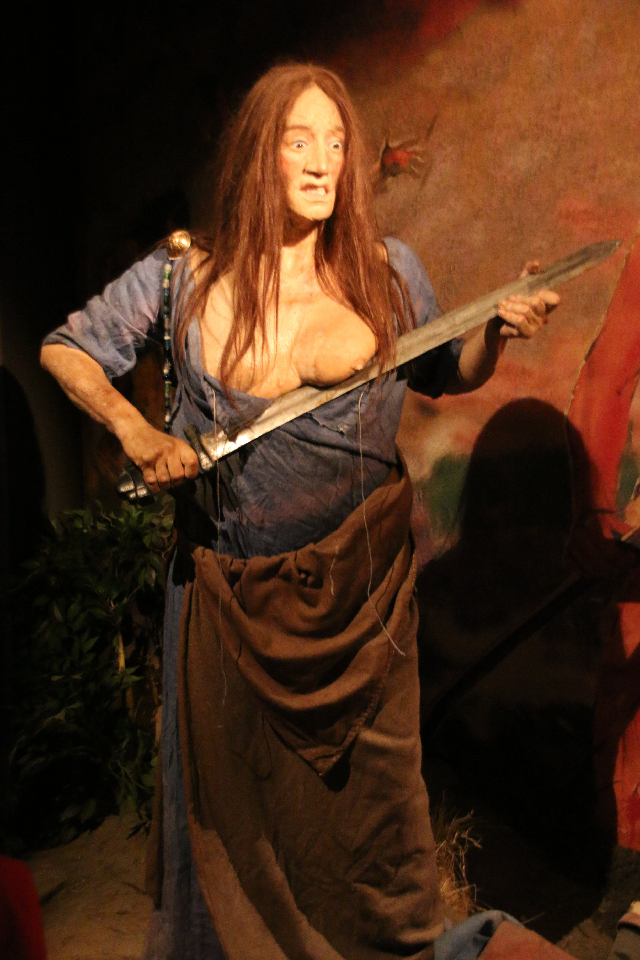 Freydis, in the Saga Museum, Reykjavik