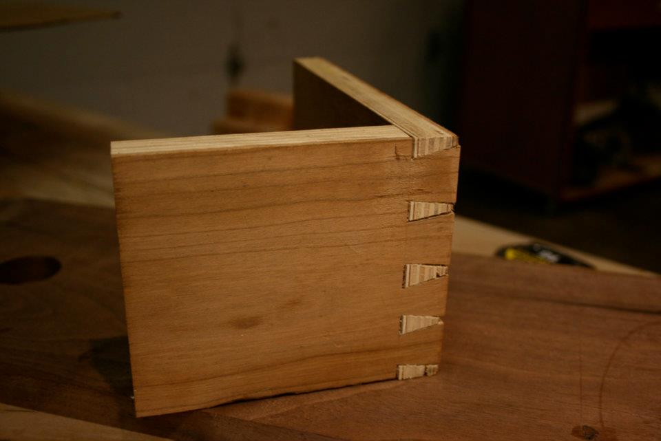My first dovetails