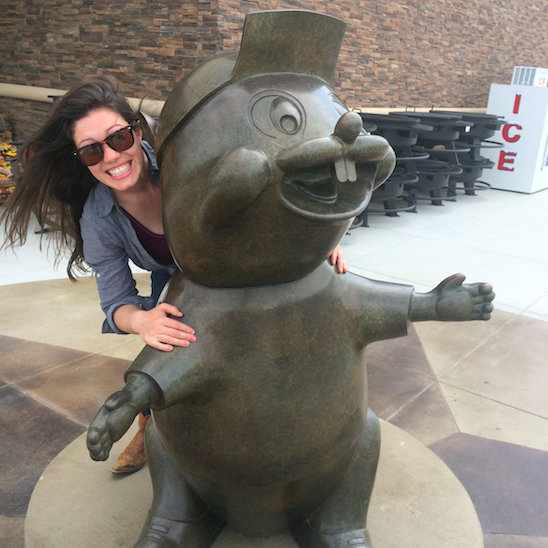 """My first trip to """"Bucee's"""" was full of culture shock. I was HARSHLY reprimanded for thinking this was a giant chipmunk."""
