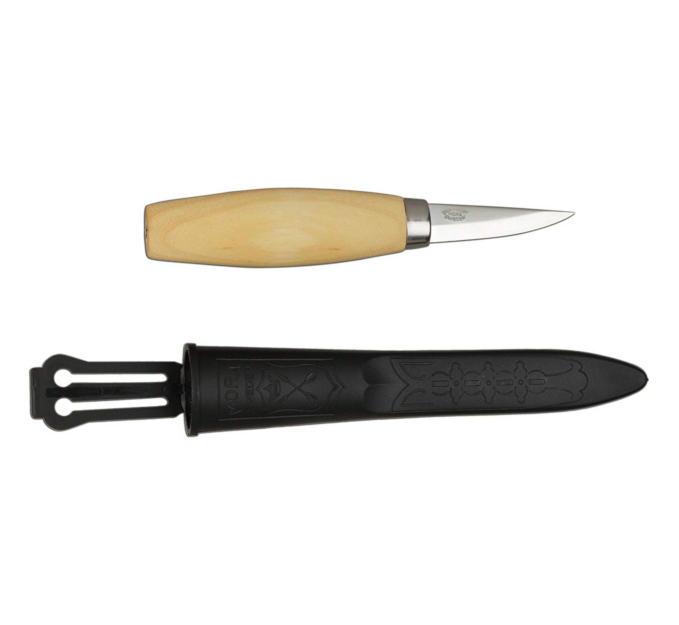 Carving Knife - Generations of carpenters and wood carvers have appreciated the precision tools made by Morakniv in Mora, Sweden since 1891.