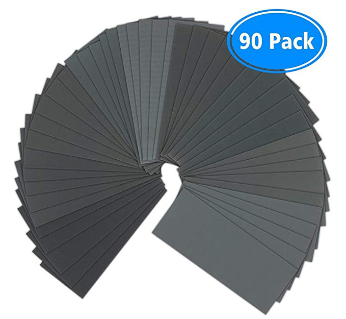 Sandpaper - VERONES Sandpaper Set use advanced production technology which can suitable for both wet and dry use.