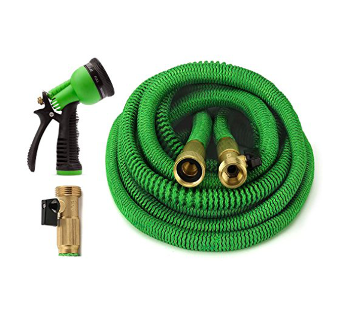 Garden Hose - Made with durable, pressure-resistant latex material, these hoses are safe for average water pressure and wont burst, leak, or break.