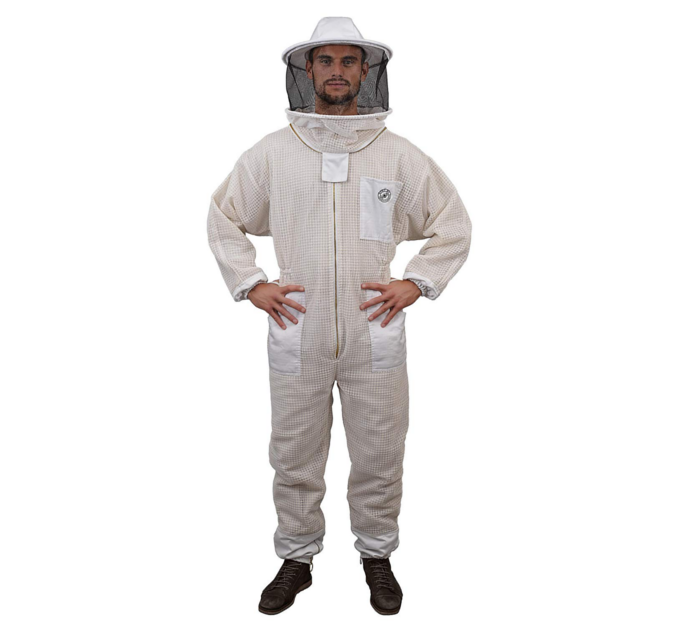 Beekeeping Suit - Humble Bee's 420 aerated beekeeping suit is constructed from premium synthetic fabric with a lightweight foam insert.