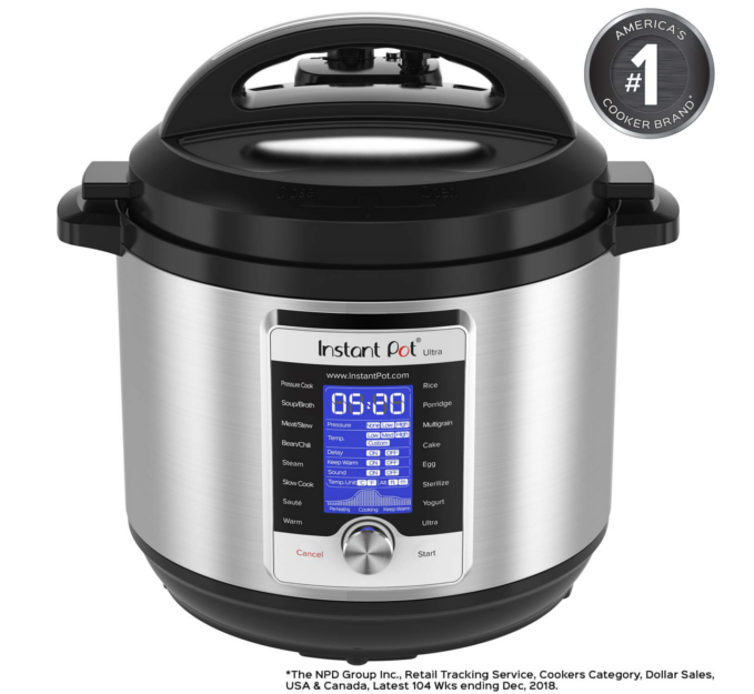 Instant Pot - 10 In 1 Multi-Use Programmable Cooker is the next generation in kitchen appliances. Designed for the home chef looking for a greater degree of customization and control.